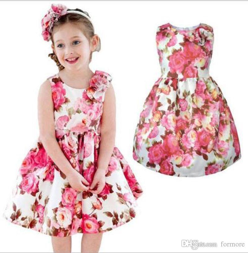 146b0d4e1df 2019 Baby Girls Tutu Dress Cotton Vest Kids Sundress Princess Shirt Casual  Plaid Dresses Toddlers Girl Clothes Factory Handmade Infant Clothing From  Formore ...