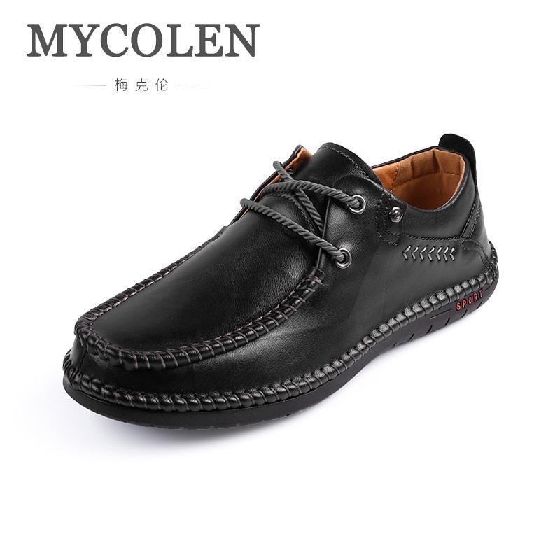 Herbst Mycolen Männer Müßiggänger Designer Winter Luxus Herren Atmungsaktive Pria Outdoor Sepatu Schuhe Walking hxrCQdts