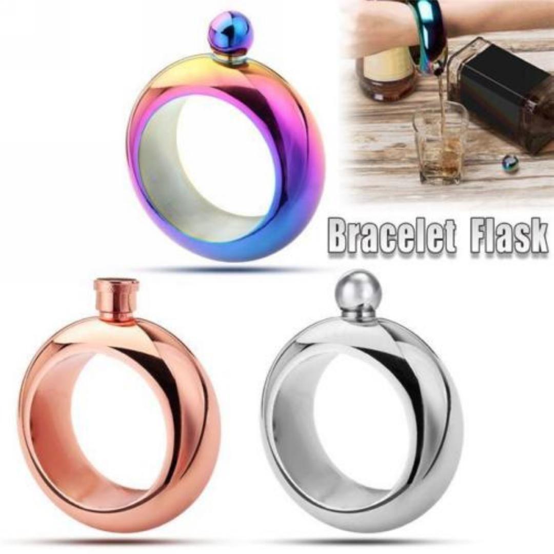3 Mode De Acheter Shellhard Oz En Bracelet Flask Punk 5 qpzUVMSG