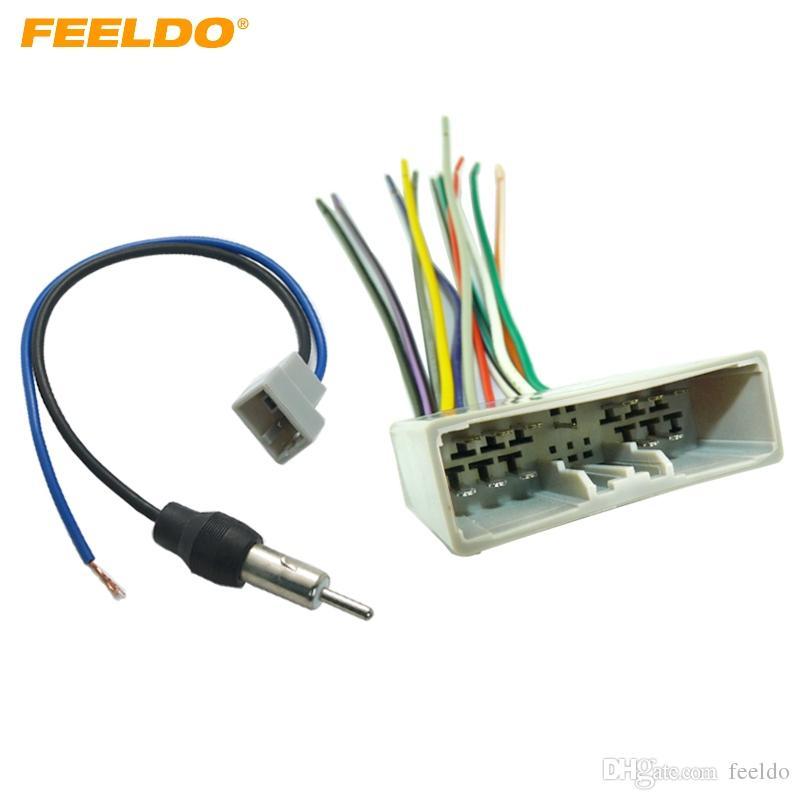 Marvelous 2019 Feeldo Car Radio Audio Stereo Wire Harness Antenna Adapter For Wiring Database Plangelartorg