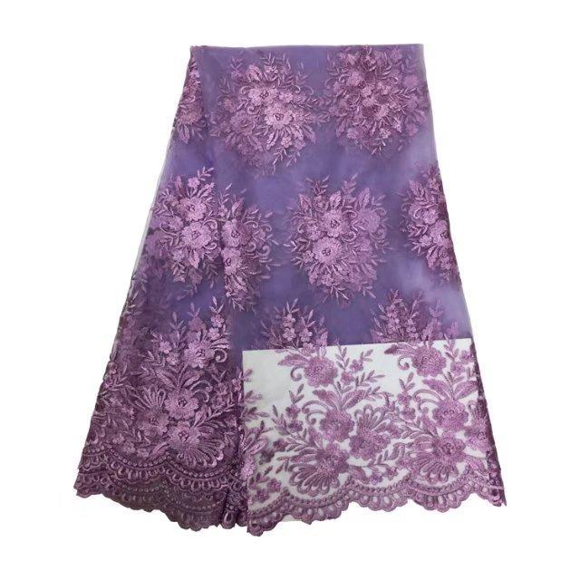 Neue ankunft Heißer Verkauf 5 yards schöne spitze Europäischen tüll stoff kleidung spitze nähen stickerei kleid hohe qualität Nähen frauen Kleider