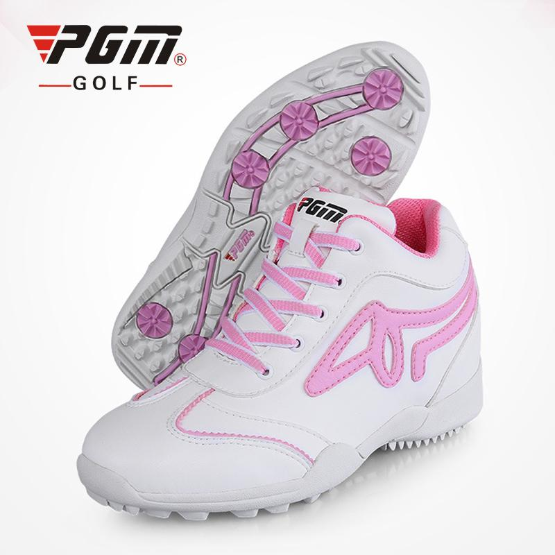 2019 PGM Golf Shoes Women 5.5cm Wedge Heel Sports Shoes Brand Women Golf  Shoes Eva Sneakers Anti Skid Breathable Women s Golf Shoes From Hupiju 210a7be906