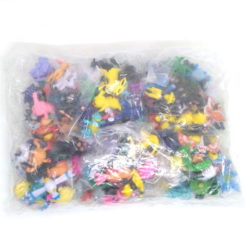 144 шт. аниме рисунок кукла игрушки японское аниме мини фигурки модель игрушки для детей детские подарки