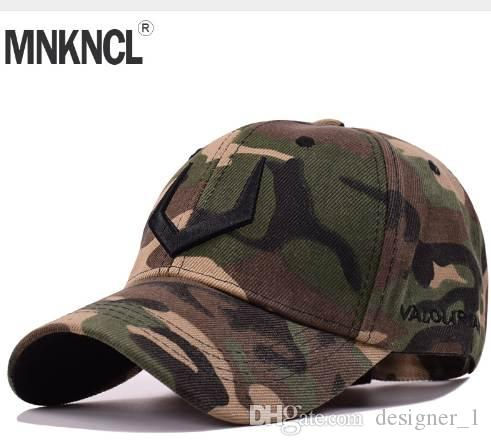 b9fb88433af0c New Camouflage Baseball Cap Men Tactical Hat 3 D Embroidery Camouflage  Snapback Hat For Men High Quality Bone Dad Hat Truck Custom Fitted Hats  Design Your ...