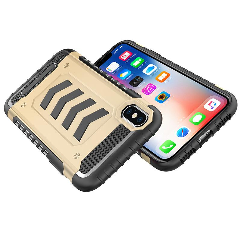 Hybrid Armor Cases For iPhone X cases iphone 7 8 plus 6S TPU+PC shell case