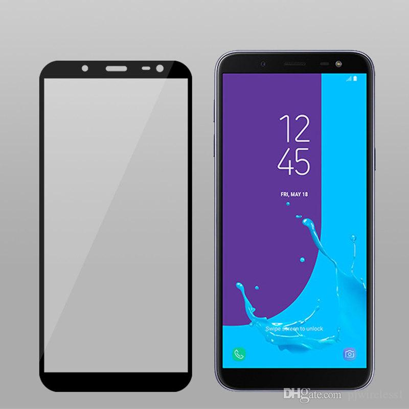 For Samsung Galaxy ON6 J6 2018 LG Q7 PLUS Q7 Alcatel 7 Folio Metropcs Full  Tempered Glass Screen Protector Without retail packaging B