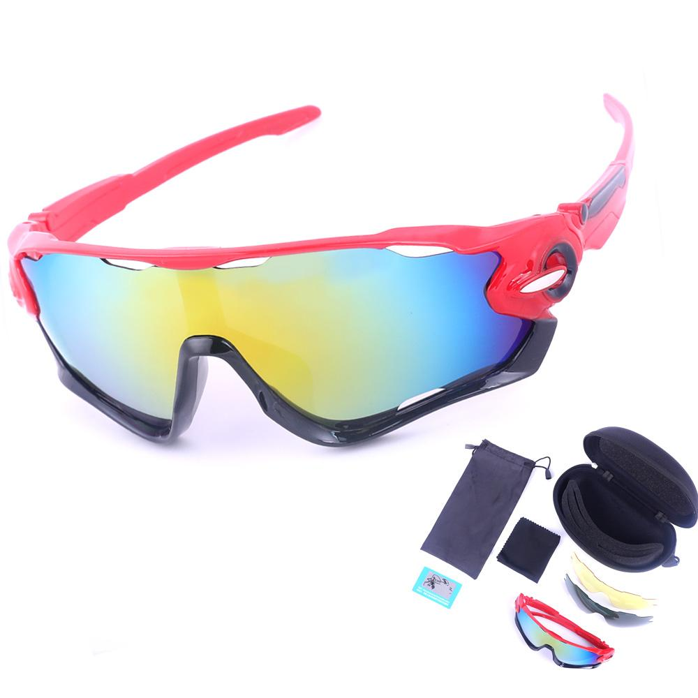 bd3737f7b59 2019 3 Types Bicycle Glasses Polarized Sunglasses Kits Multi Color  Dustproof Lens Frame Glasses Motorcycle Ski Goggles Sunglasses From Cbaoyu