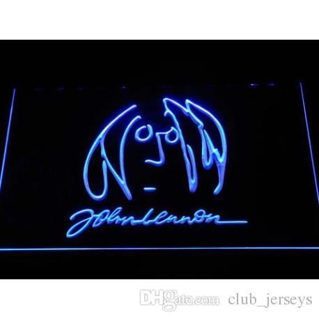 2018 The Beatles John Lennon Sign Led Neon Sign Light Football Usa