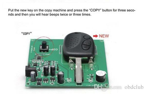Melhor Máquina de cópia chave remota para o programador da copiadora da chave de Chevrolet para Chevrolet para o botão 304MHZ da chave 3 de Holden