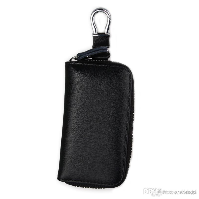 e95001677bfe High Quality Key Wallets Fashion Car Key Home Key Bags Genuine Leather Hang  On The Waist Safety Hardwear Mens Small Bags Cheap Leather Wallets From  Xwfsgs, ...