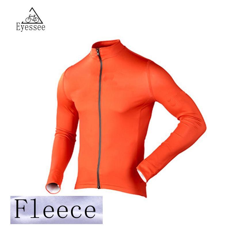 ea520de54ff 2018 Eyessee Winter Thermal Fleece Cycling Jersey Bike MTB Ropa ...