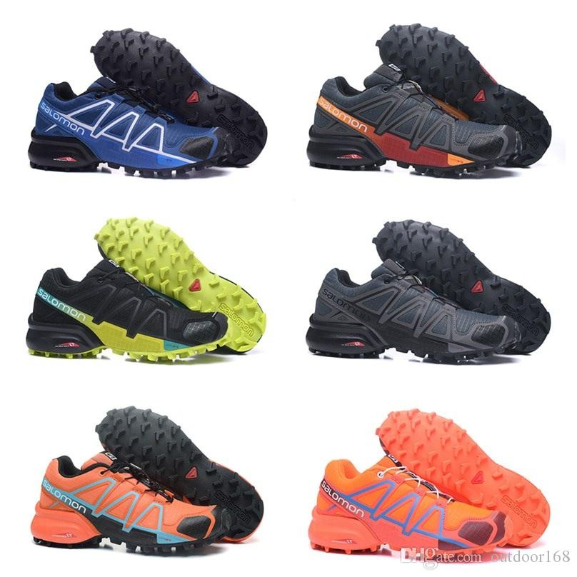 5a07bb567283 Satın Al 2018 Salomon Speedcross 4 Trail Runner En Kaliteli Erkek Ve Kadın  Spor Ayakkabı Moda Sneaker Açık Ayakkabı Ücretsiz Kargo