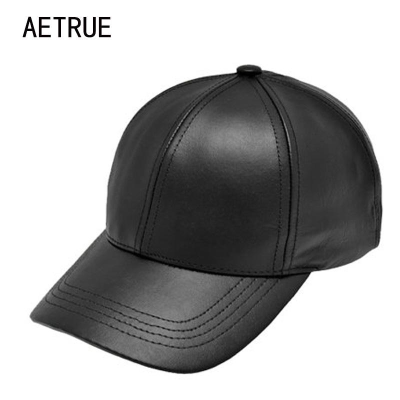 b05671131e2 Plain New Men Baseball Cap Women Leather Snapback Caps Casquette Brand  Adjustable Bone PU Hats For Men Dad Winter Baseball Caps Brand Hats for Men  Hats for ...