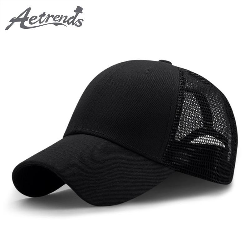 5af09d34 New Summer Sport Mesh Adjustable Baseball Caps Men Or Women Outdoor ...