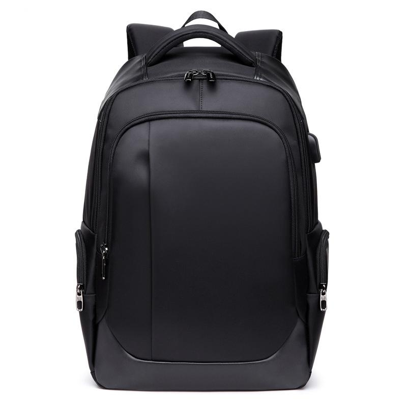 84811b1f69a8 Fashion High Capacity Laptop Backpack Men Oxford Waterproof Charging ...