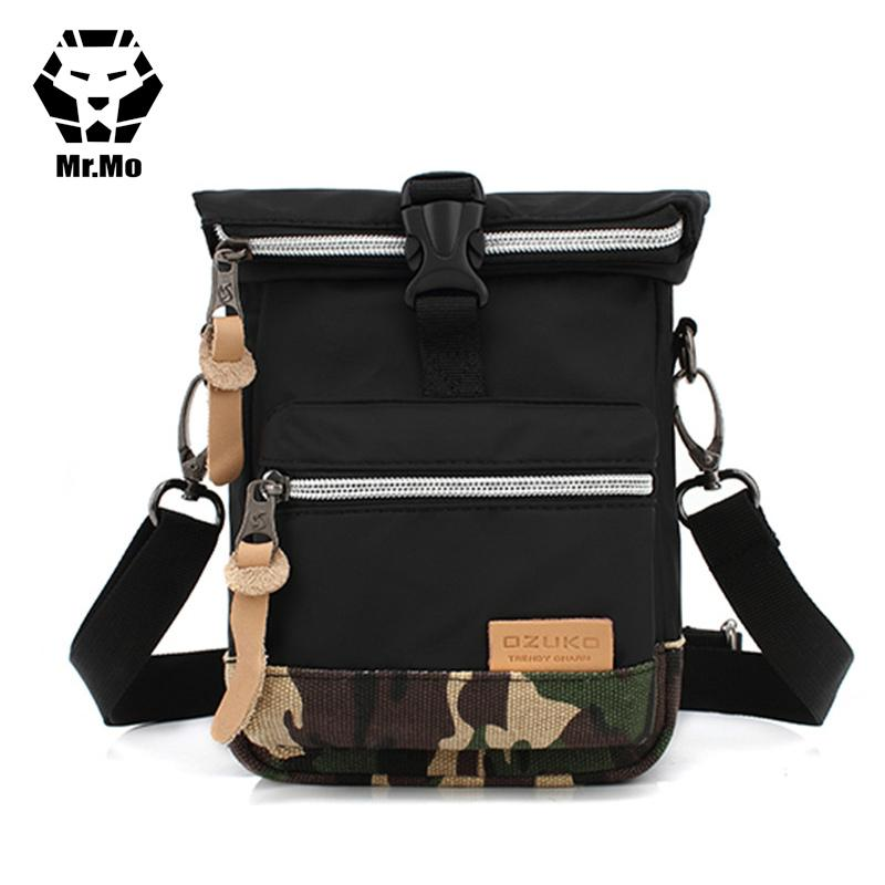76d39a428e3c Back And Front Side Pockets Men Messenger Bags Canvas Vintage Bag Men  Shoulder Crossbody Bags Small Bag Designer Handbags Bolso Crossbody Purse  Cute Purses ...