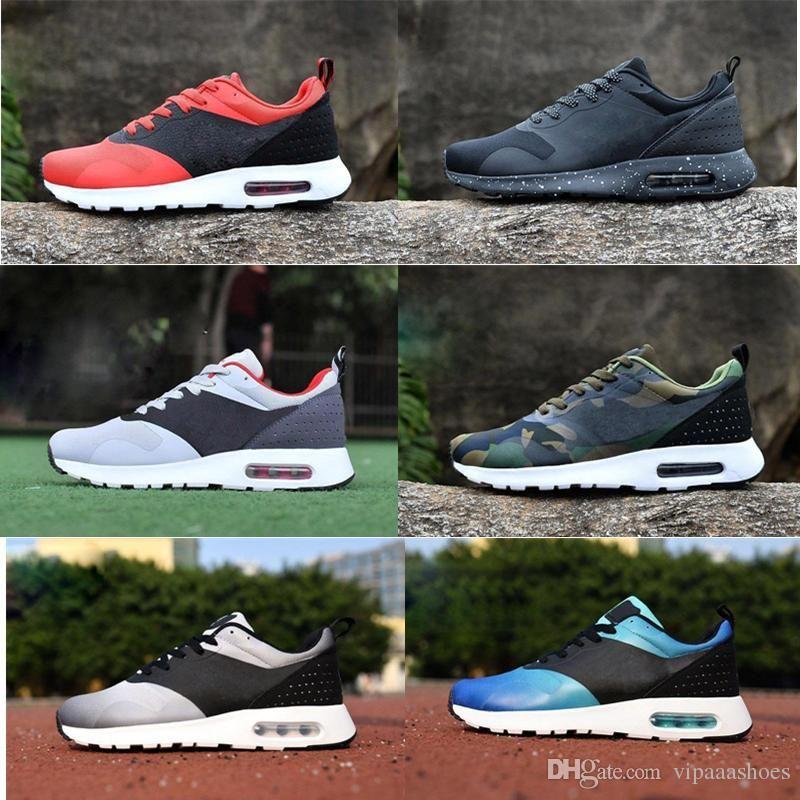 promo code 34961 1c430 Acheter Nike Air Max Nike Vapormax Off White Shoes Boots Vans Nmd Supreme Vente  Chaude Nouveau Thea 87 90 AS Tavas Sneakers Hommes Chaussures De Course ...
