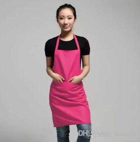 2018 nouveau noir cuisine tabliers de cuisine tablier de cuisine tablier de restaurant tabliers pour les femmes à la maison tablier sans manches