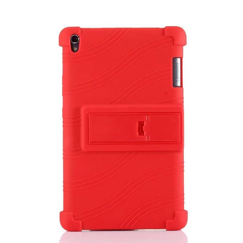 reputable site 1eb4b ab804 Soft Silicon TPU Back Cover Stand for Lenovo Tab 3 Tab3 8 Plus P8 TB-8703  TB-8703F TB-8703X TB-8703N 8