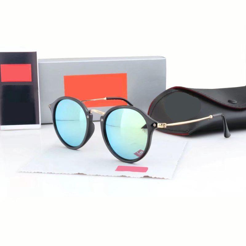 Top Quality New Fashion Sunglasses For Man Woman Erika Eyewear Designer Brand Sun Glasses Matt Leopard Gradient UV400 Lenses Box and Cases