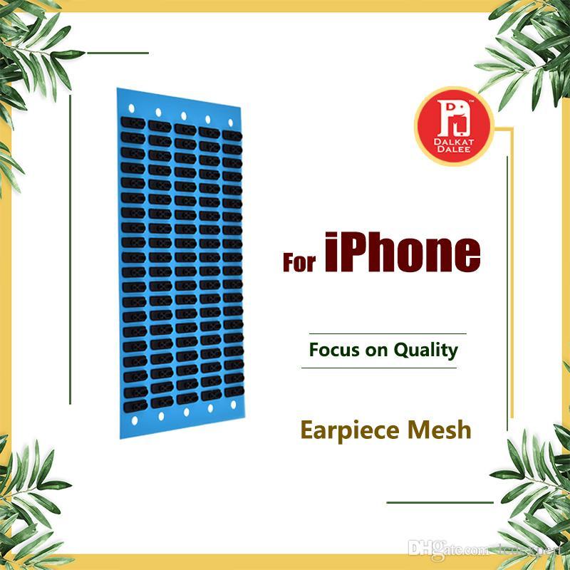 Orejador del auricular Auricular con malla anti polvo para iPhone 4S 5G 5s 5c SE 6 6s 7 Plus 4.7 5.5 Repuesto