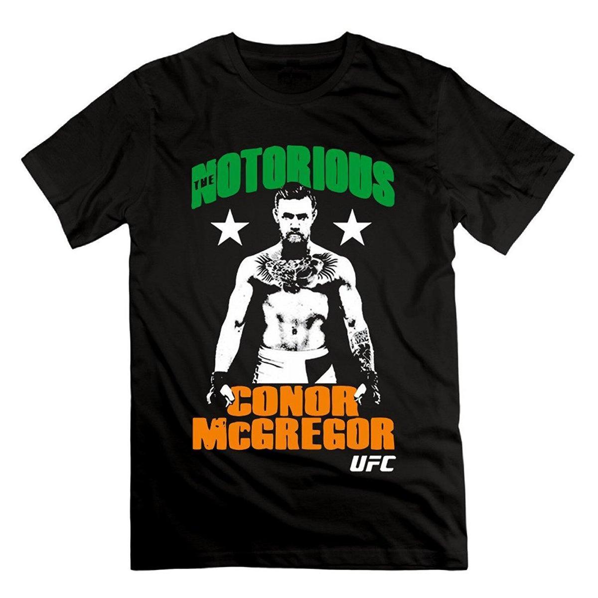 c5b020d98 Compre Camiseta Conor McGregor Notorious Hero Cool De Man s Conor Tee A   12.08 Del Amesion2509