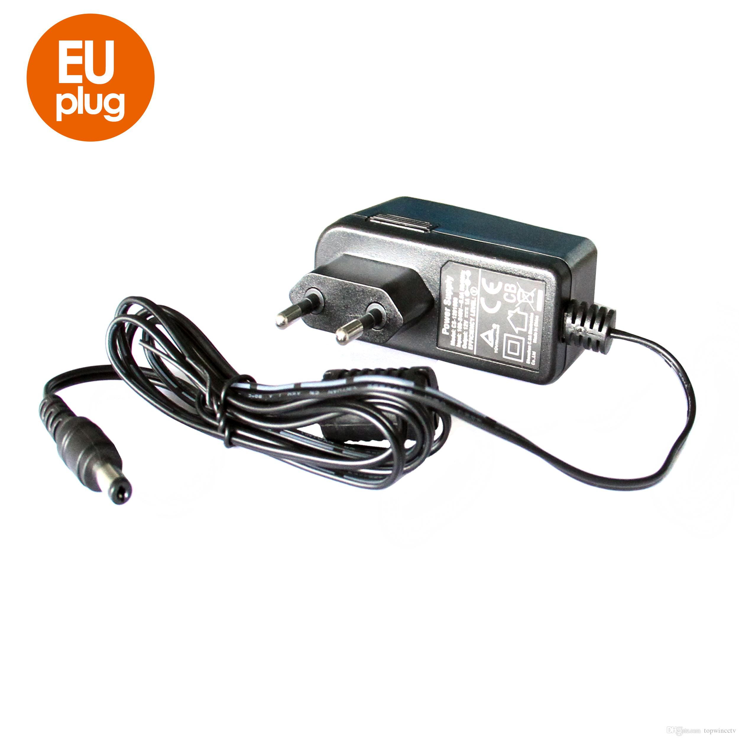 12v 1a Ac 100v 240v Converter Adapter Dc Ce Ul Standard Power How To Put In A Outlet Supply Eu Uk Au Us Plug 55mm X 21mm For Cctv Camera Cord Adaptor