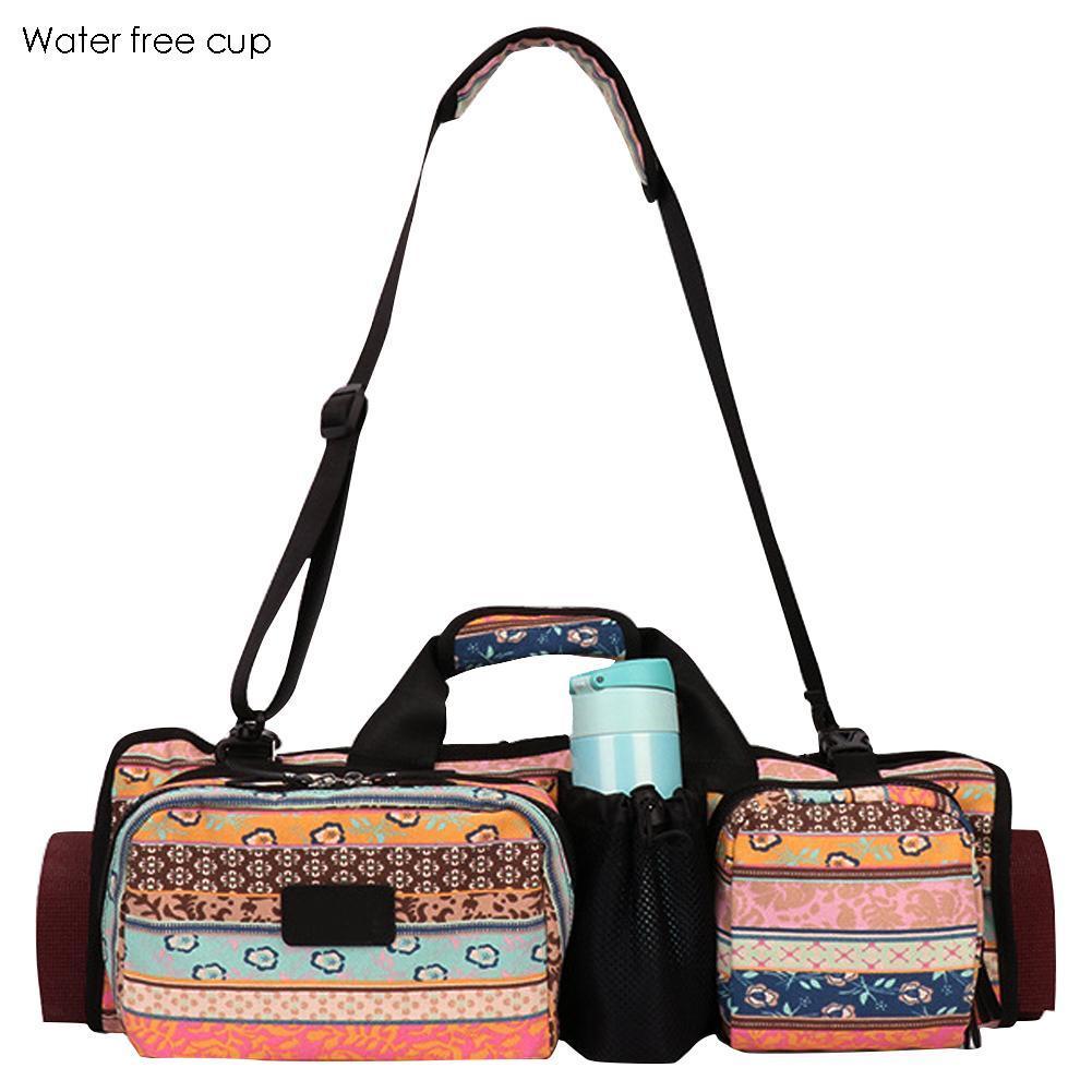 68db8c75c3 2019 Womens Yoga Mat Bag Backpack Waterproof Yoga Fitness Multifunctional  Sport Gym Shoulder Bag From Ekuanfeng