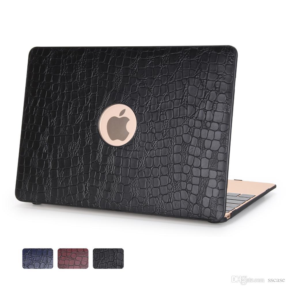 Caso de la cubierta de lujo de la moda de protección completa para macbook cubre 11.6 12 13.3 15.4 Aire Pro Retina