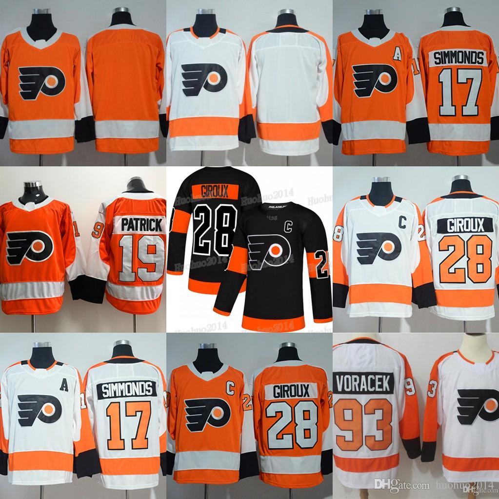 64e416e311a 2019 New Third Philadelphia Flyers 28 Claude Giroux 17 Wayne ...