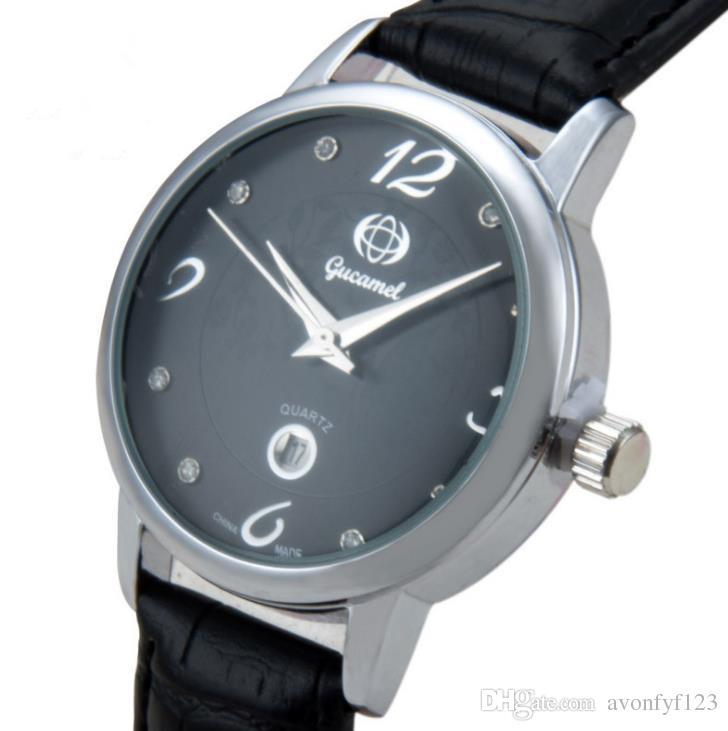 أزياء اللباس امرأة الماس ساعات عادية حزام من الجلد السيدات كوارتز ساعة نمط DW المرأة الرياضية على مدار الساعة العلامة التجارية ساعة اليد A280