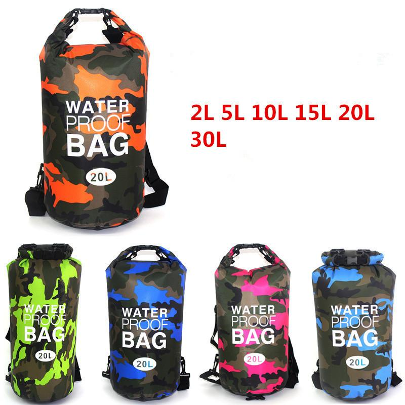 15e7440944 2019 2L 5L 10L 15L 20L 30L Outdoor Waterproof Bag Dry Bag Travelling  Backpack Trekking For Drifting Rafting Kayaking Snorkeling From Kuyee