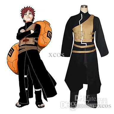 Naruto Manga ver. Gaara Cosplay Kostuum