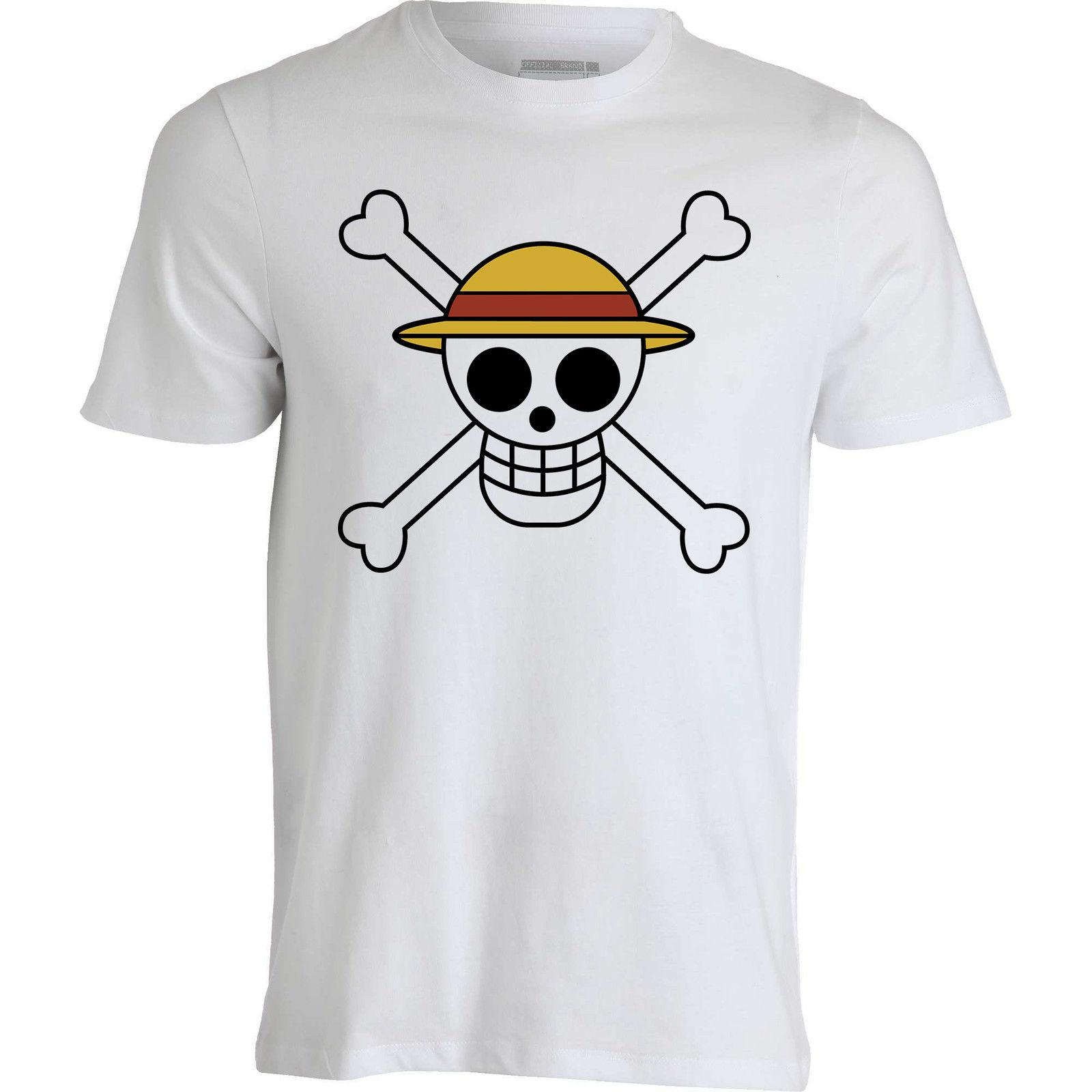 3597d116 One Piece Straw Hat Luffy Flag Anime Manga Japan Men'S Clothing T Shirt  White Newest 2018 T Shirt Men T Shirt T Shirt Site Online Tees From  Gaobei08, ...