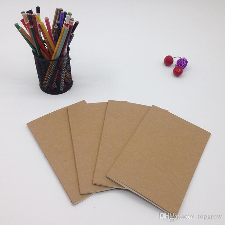 Blank Memos | Grosshandel Kuhfell Papier Notebook Blank Notizbucher Buch Vintage