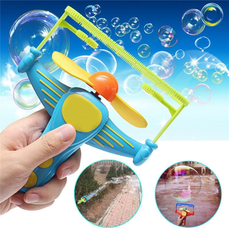 All'ingrosso-estate Bambini divertenti Bambini all'aperto Bubble Stick Blower Maker Machine Hand Held Divertimento in acqua Giocattolo Giochi all'aperto Bubble Machine Show