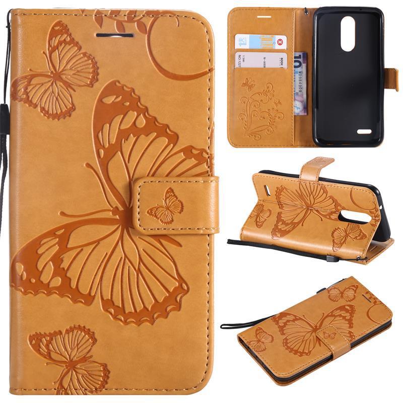 low priced b1524 96139 Mobile Capas Case For LG K8 2017 2018 K10 2018 K4 2017 LSS775 V20 V30  Luxury Phone Protective Flip Cover Wallet Leather Bag Skin