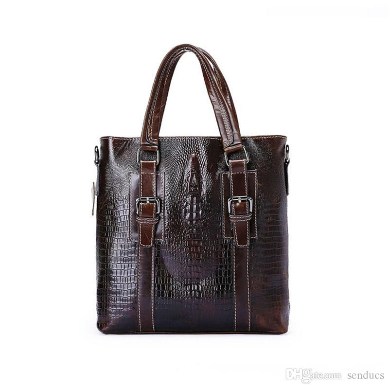 Quality Cow Leather Bag Men Genuine Leather Bag Fashion Men Messenger Bags  Brand Small Shoulder Crossbody Bags Men s Travel Ipad Flap Men Backpack  Genuine ... aed5a92fd2373