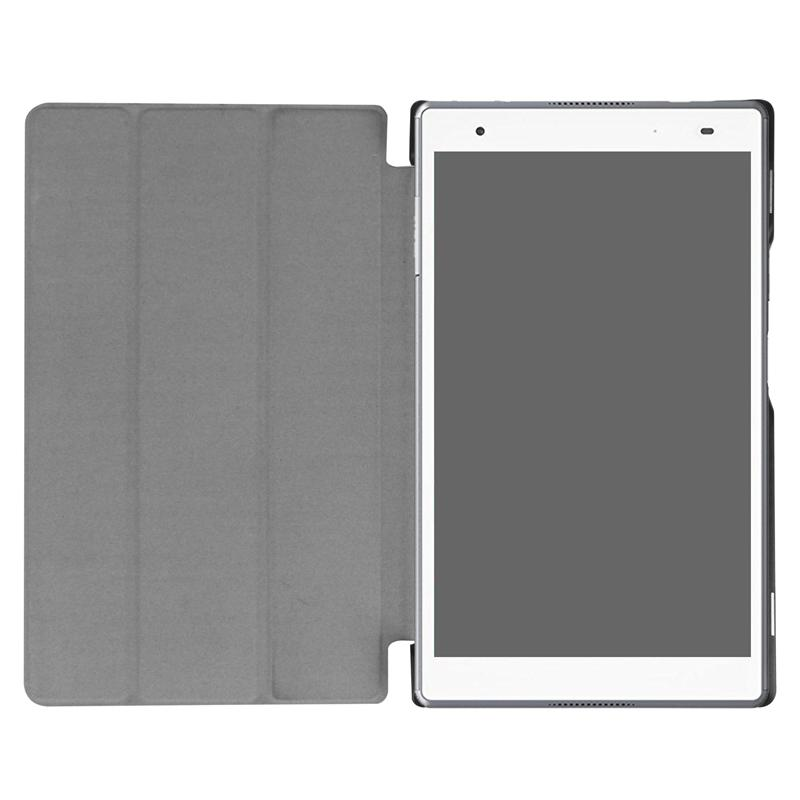 Flip Book Cover Ultra Slim PU Leather Case Stand for Lenovo TAB 4 8 TB-8504X TB-8504N TB-8504F TB-8504 Tablet Screen Protector