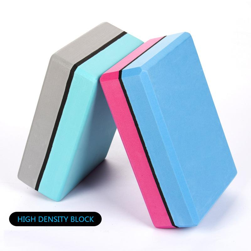 400g High density Profession Yoga Blocks Foam Balance Aid EVA Strength Flexibility Fitness Exercise Pilates Yoga Brick for women
