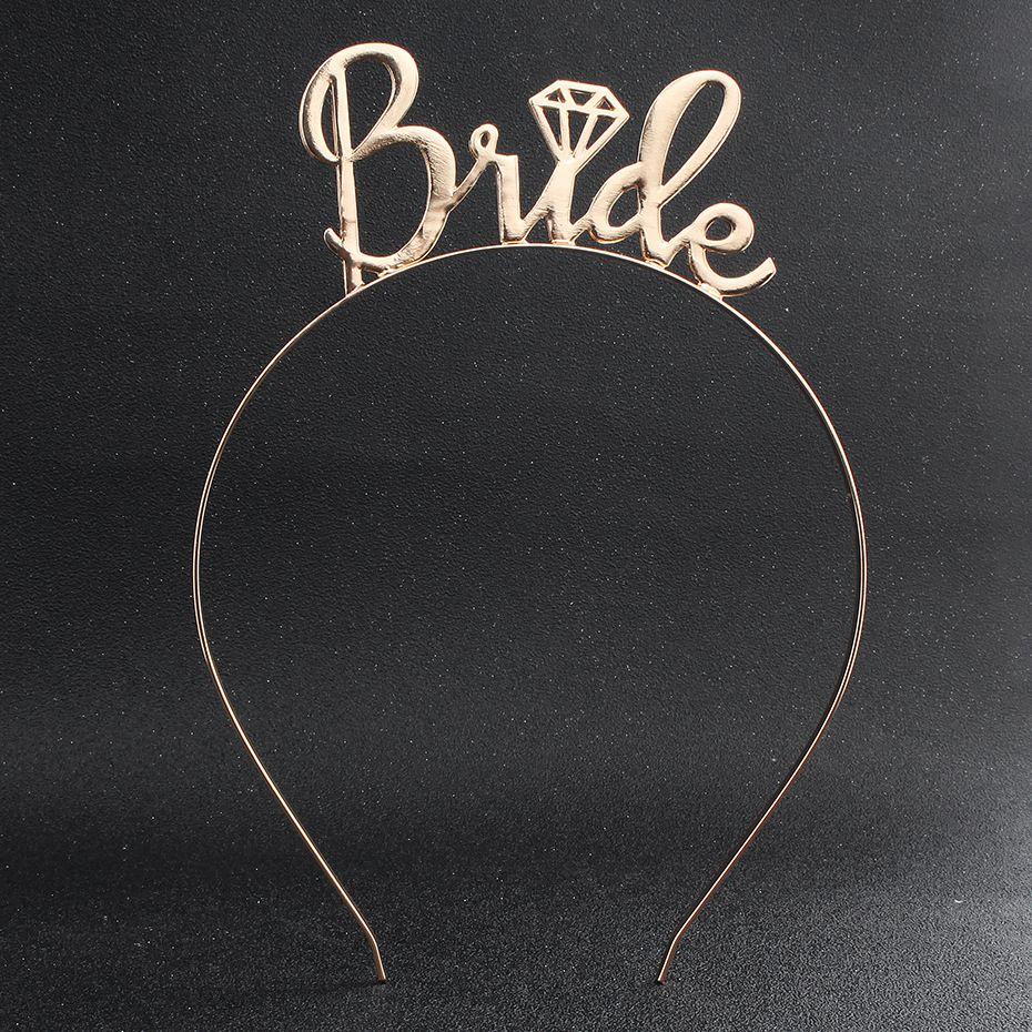 2019 Bride Letter Gold Headband Wedding Guest Flower Girl Headdress From Bellyfox 2413 Dhgate: Headband For Wedding Guest At Websimilar.org