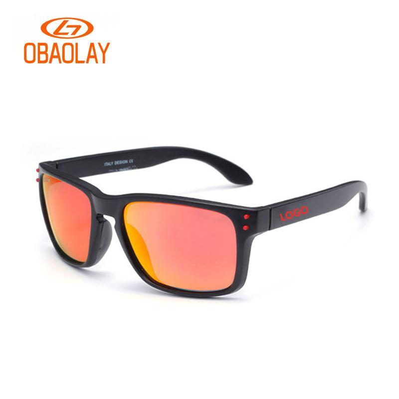 9719595ee3 Brand LOGO Polarized Sunglasses HOLBR0K Moto Race Glasses Men Fishing  Surfing Sunglasses Frame HD Polaroid Driving Glasses Gafas Designer Eyeglasses  Womens ...