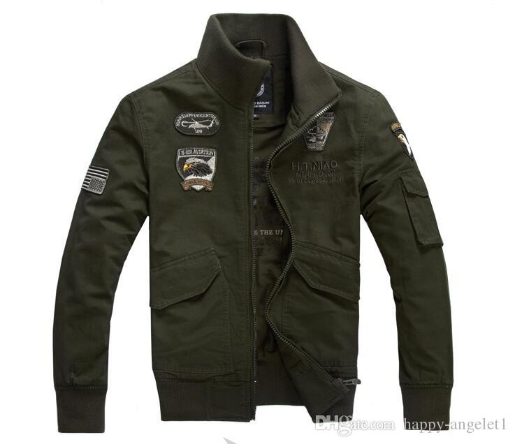 Military Tactical brand jackets thermal clothing German uniform jacket Army Military Air Force One jacket 4XL