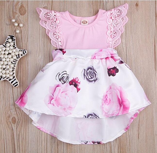 85f8f45cd323 2019 Cute Fashion Lovely Toddler Baby Girls Cotton Sleeveless O Neck ...