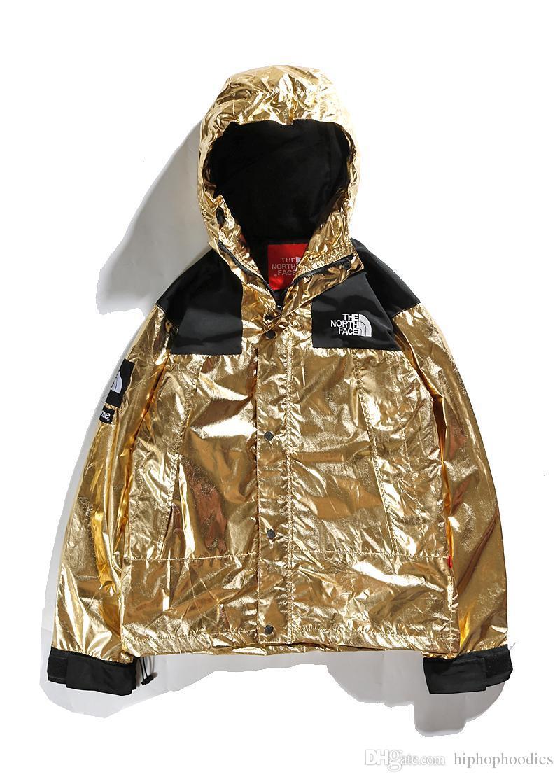 New Fashion Metallic Waterproof Jacket Mens Luxury Designer Jackets Motorcycle Men Casual Coat M 2xl Coats For Online Long