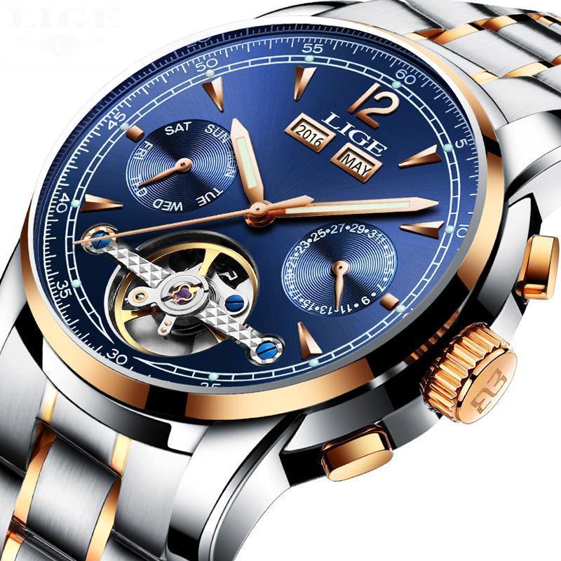 791897e7d11ea Compre Relojes Deportivos De Alta Calidad De Los Hombres De La Marca De  Lujo Relojes Deportivos De Los Hombres De Acero Impermeable Reloj  Industrial ...