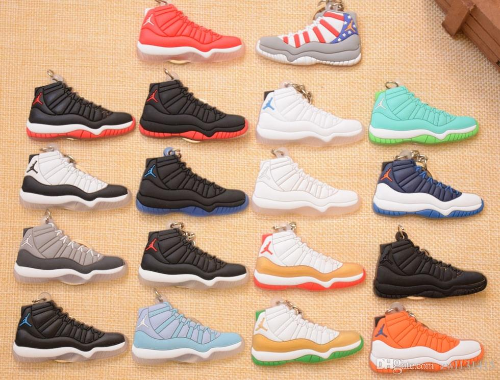 Soft PVC Basketball Shoes Keychains Sports Sneaker Key Pendant Car Key  Chain Keyrings Accessories Christmas Gifts Car Keychain Shoes Keychains  Keychains Car ... b3cdb35c5554