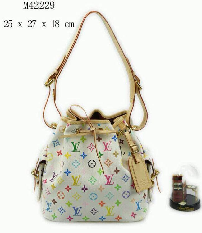 9cf5482e04 Multicolore Canvas With Leather Harness Handbag M42229 TOP OXIDIZED REAL  LEATHER ICONIC BAGS SHOULDER BAG TOTES CROSS BODY BUSINESS BAGS Cheap  Handbags ...