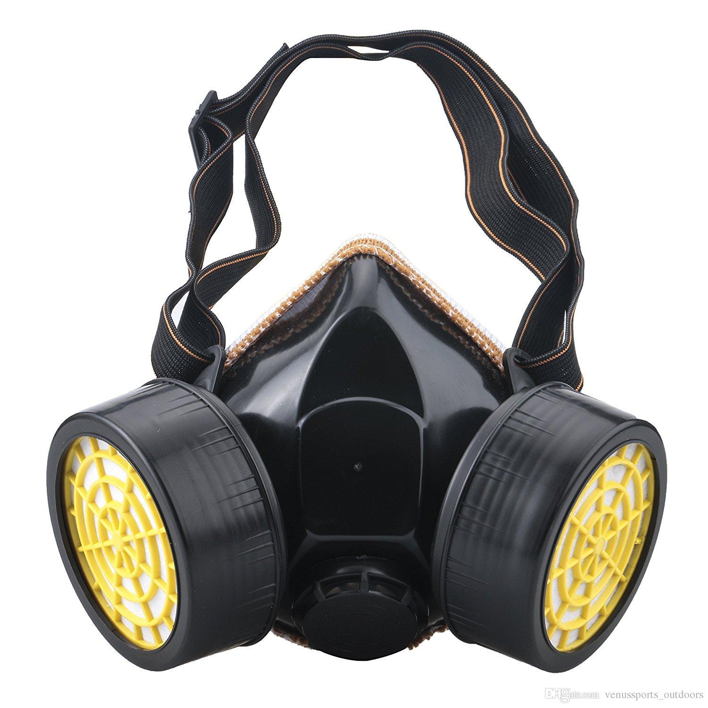Compre Produtos Esportivos Anti Poeira Respirador De Tinta Máscara Óculos  De Segurança Máscara De Gás Industrial Máscara De Gás Químico Venda Quente  De ... 9f138a2965