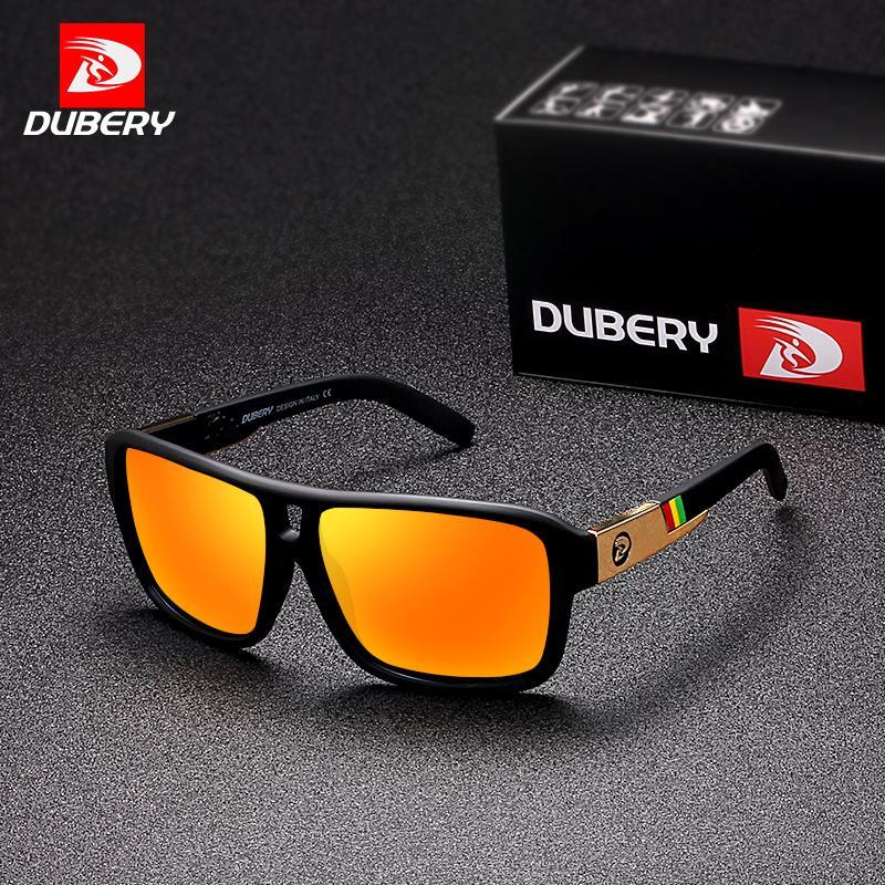 Compre DUBERY Polarizada Óculos De Sol Dos Homens Aviação Condução Óculos  De Sol Das Mulheres Dos Homens De Pesca Esportiva De Luxo Designer De Marca  Oculos ... e131a31c9d
